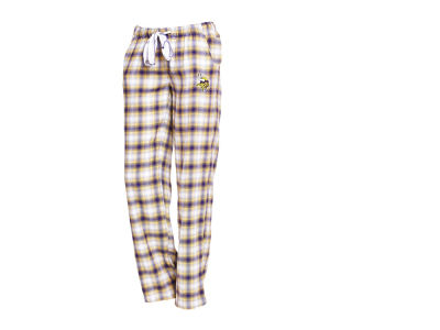 Minnesota Vikings Concept Sports NFL Women's Forge Flannel Pant