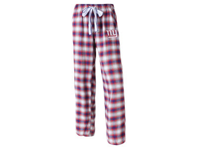 New York Giants Concept Sports NFL Women's Forge Flannel Pant