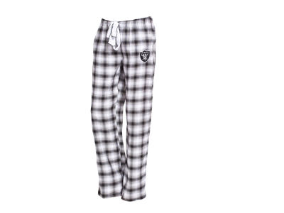 Oakland Raiders NFL Women's Forge Flannel Pant