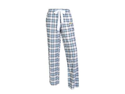 Los Angeles Chargers Concept Sports NFL Women's Forge Flannel Pant