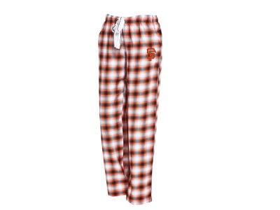 San Francisco Giants Concept Sports MLB Women's Forge Flannel Pant