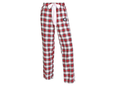 Georgia Bulldogs Concept Sports NCAA Women's Forge Flannel Pant