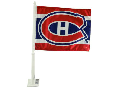 Montreal Canadiens 2 Sided Car Flag