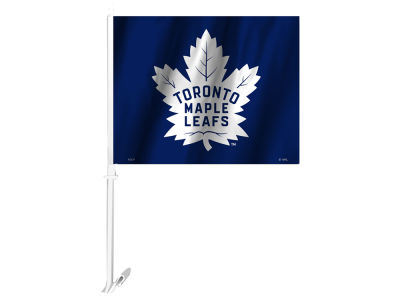 Toronto Maple Leafs 2 Sided Car Flag