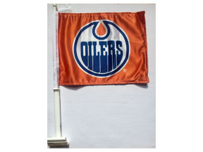 Edmonton Oilers 2 Sided Car Flag