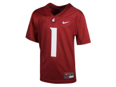 Washington State Cougars Nike NCAA Youth Replica Football Game Jersey