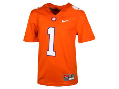 Clemson Tigers Nike NCAA Toddler Replica Football Game Jersey