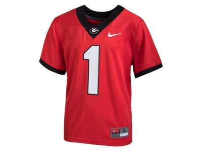 Georgia Bulldogs Nike NCAA Kids Replica Football Game Jersey