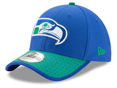 Seattle Seahawks New Era 2017 Official NFL Sideline 39THIRTY Cap