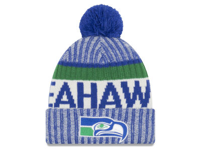 Seattle Seahawks New Era 2017 NFL Sport Knit