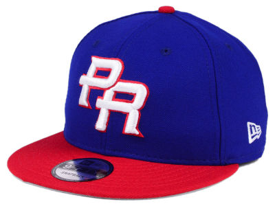 Puerto Rico New Era World Baseball Classic Custom 9FIFTY Snapback Cap