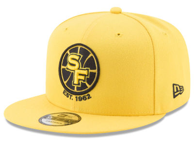 Golden State Warriors New Era NBA All Colors 9FIFTY Snapback Cap