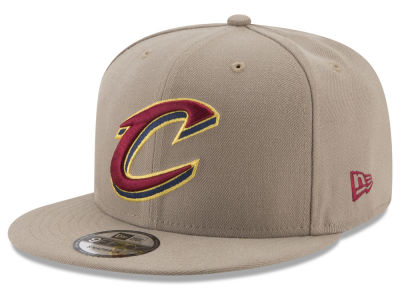 Cleveland Cavaliers New Era NBA Tan Top 9FIFTY Snapback Cap