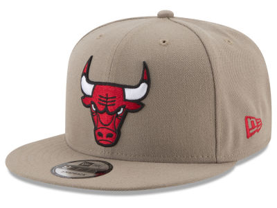 Chicago Bulls New Era NBA Tan Top 9FIFTY Snapback Cap