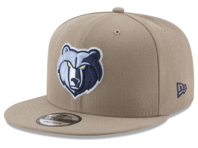 Memphis Grizzlies New Era NBA Tan Top 9FIFTY Snapback Cap