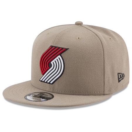 Portland Trail Blazers New Era NBA Tan Top 9FIFTY Snapback Cap
