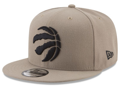 Toronto Raptors New Era NBA Tan Top 9FIFTY Snapback Cap