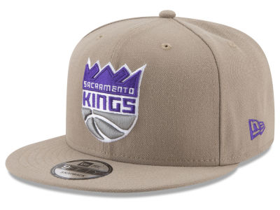 Sacramento Kings New Era NBA Tan Top 9FIFTY Snapback Cap