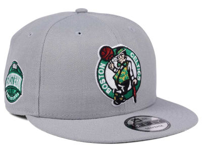 Boston Celtics New Era NBA Gray Pop 9FIFTY Snapback Cap