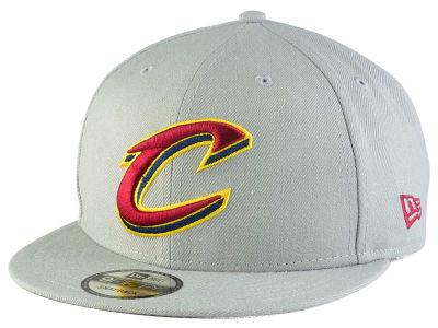 Cleveland Cavaliers New Era NBA Gray Pop 9FIFTY Snapback Cap