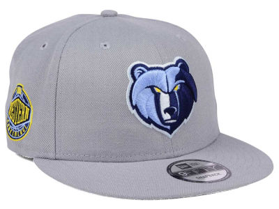 Memphis Grizzlies New Era NBA Gray Pop 9FIFTY Snapback Cap