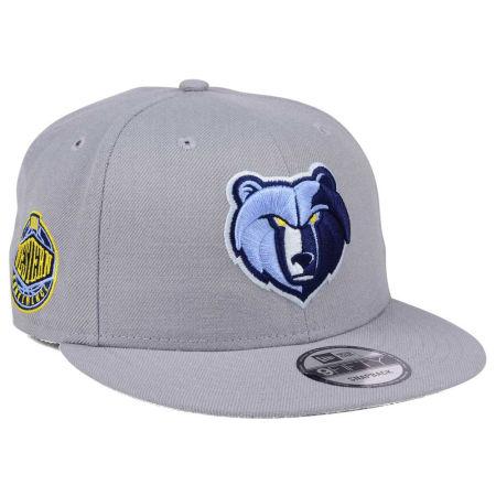 Memphis Grizzlies New Era NBA Gray Pop 9FIFTY Snapback Cap