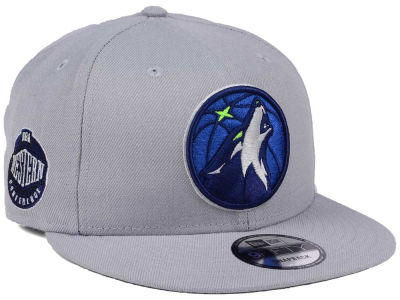 Minnesota Timberwolves New Era NBA Gray Pop 9FIFTY Snapback Cap
