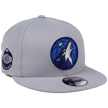 Minnesota Timberwolves New Era NBA Gray Pop 9FIFTY Snapback Cap