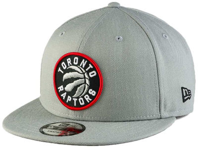 Toronto Raptors New Era NBA Gray Pop 9FIFTY Snapback Cap