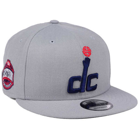 Washington Wizards New Era NBA Gray Pop 9FIFTY Snapback Cap
