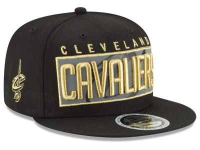 Cleveland Cavaliers New Era NBA Golden Reflective 9FIFTY Snapback Cap