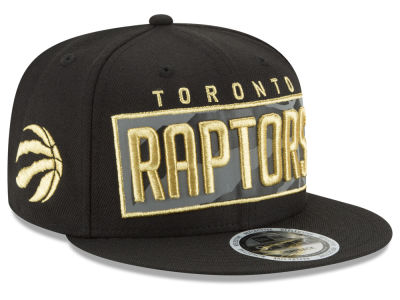 Toronto Raptors New Era NBA Golden Reflective 9FIFTY Snapback Cap