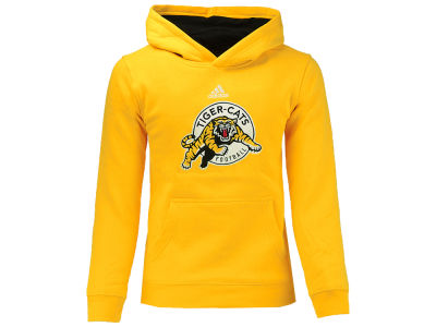 Hamilton Tiger-Cats adidas CFL Youth Prime Pullover Hoodie