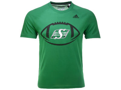 Saskatchewan Roughriders adidas CFL Child Sideline Pigskin T-shirt