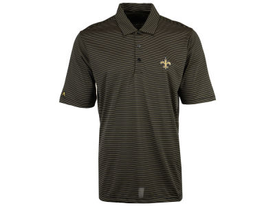 New Orleans Saints Antigua NFL Men's Quest Polo