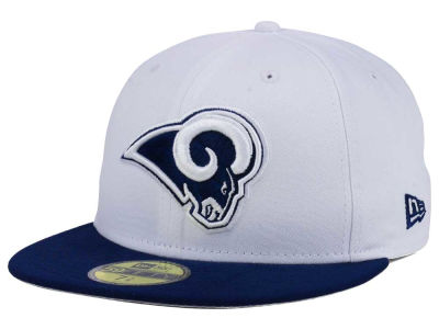 Los Angeles Rams New Era NFL 2 Tone 59FIFTY Cap