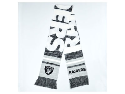 Oakland Raiders Knit Color Blend Scarf