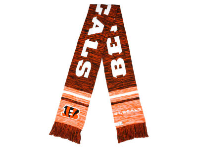 Cincinnati Bengals Knit Color Blend Scarf