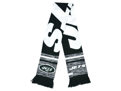 New York Jets Knit Color Blend Scarf