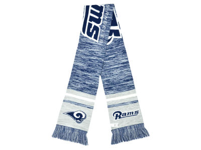 Los Angeles Rams Knit Color Blend Scarf