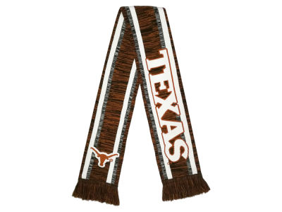 Texas Longhorns Big Logo Acrylic Knit Scarf