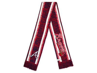 Atlanta Braves Big Logo Acrylic Knit Scarf