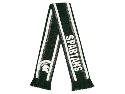 Michigan State Spartans Big Logo Acrylic Knit Scarf