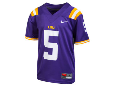 LSU Tigers Nike NCAA Kids Replica Football Game Jersey
