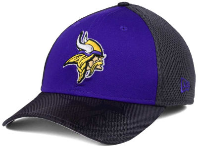Minnesota Vikings New Era NFL Visor Hit 39THIRTY Cap