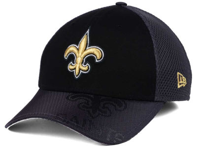 New Orleans Saints New Era NFL Visor Hit 39THIRTY Cap
