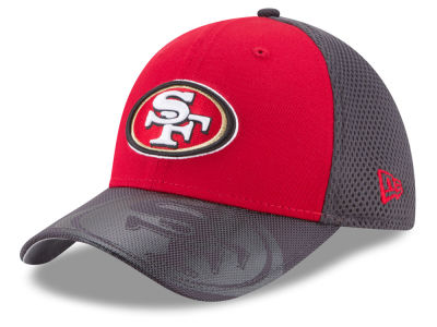 San Francisco 49ers New Era NFL Visor Hit 39THIRTY Cap