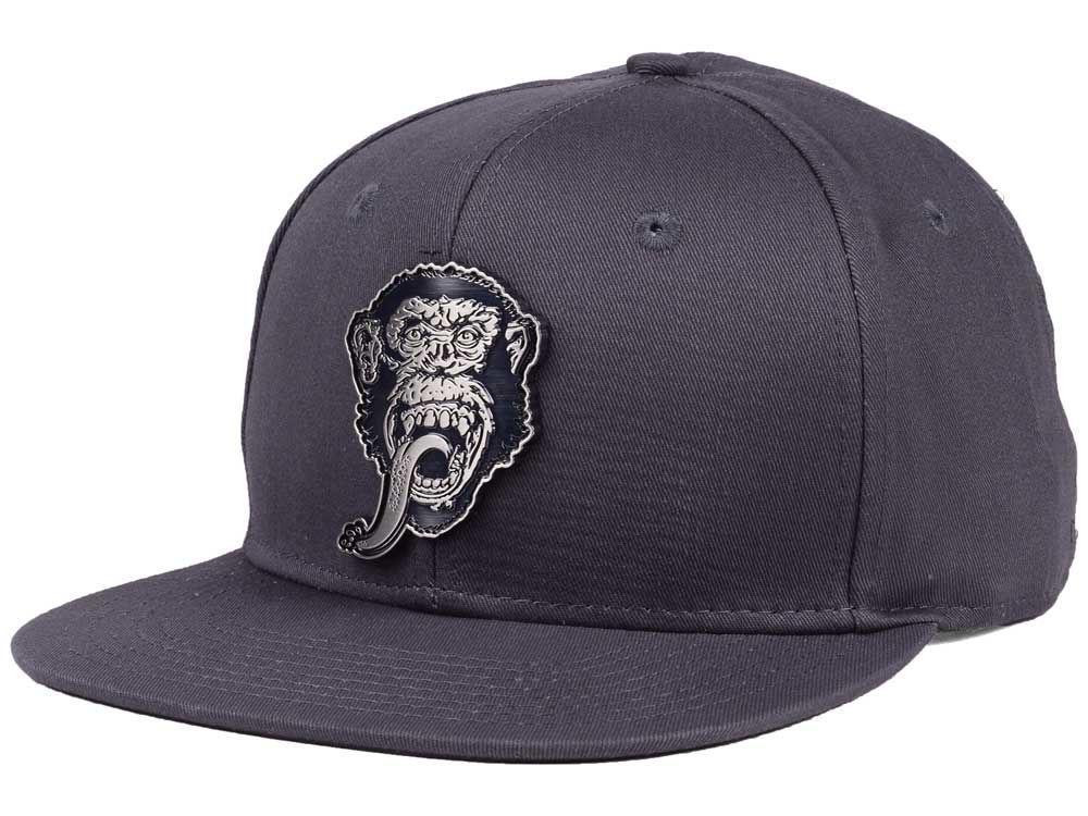 Gas Monkey Garage Gas Monkey Garage Monkey Metal Snapback Cap  b93e5342937
