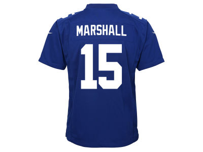 New York Giants Brandon Marshall Nike NFL Youth Game Jersey