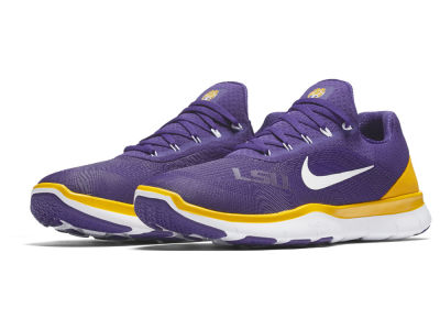 LSU Tigers Nike NCAA Free Trainer V7 Shoes